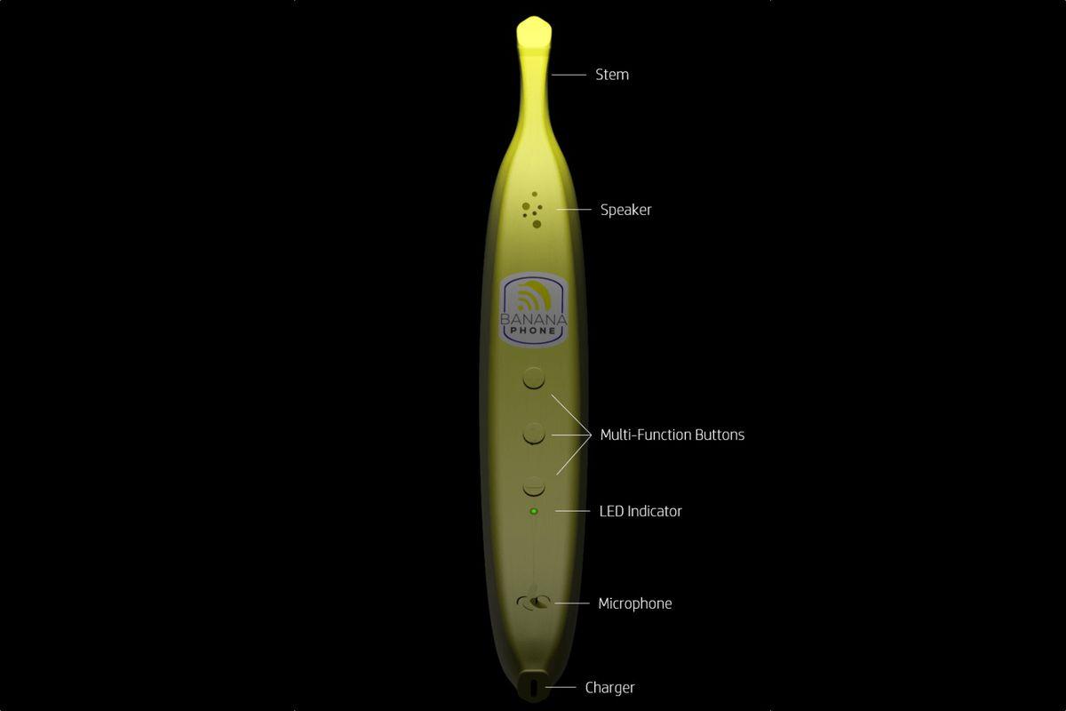 Banana Cell Phone
